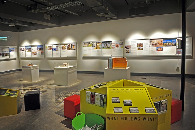 <em>Kiwi Prefab: Cottage to Cutting Edge</em> at New Plymouth's Puke Ariki (until 1 April, 2013).