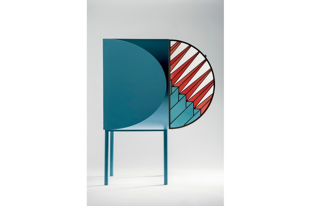 Divider screen from the Credenza collection by Patricia Urquiola and Federico Pepe.