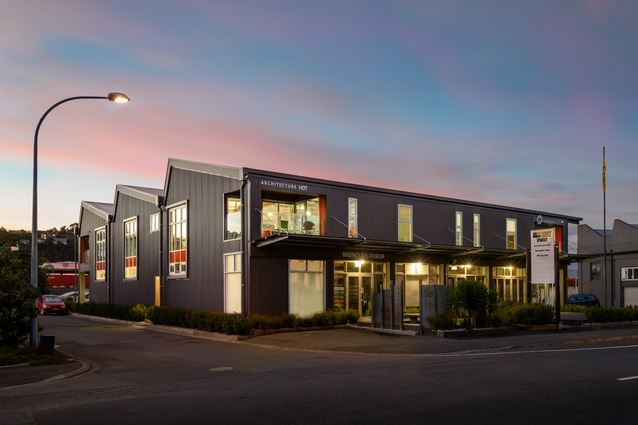 Commercial Architecture winner: 1 Wright Street by Architecture HDT Hawke's Bay.