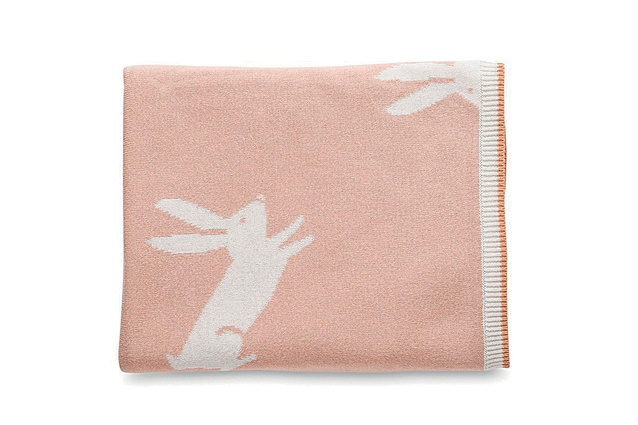 Jackrabbit Cotton Knit Cot Blanket | $90 from <a 