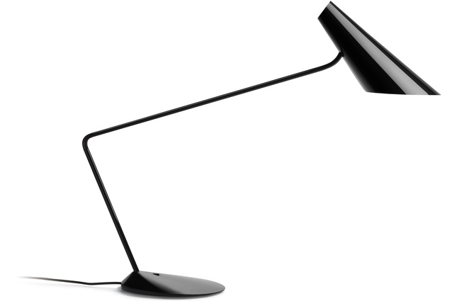 The I.Cono 0705 Table Lamp by Vibia in a beautiful black lacquer. RRP $1,465; ecc.co.nz