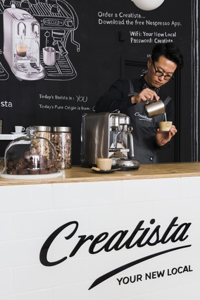 Some of Auckland's top baristas will be on hand to teach coffee-loving customers how to create simple latte art.