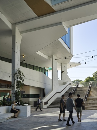 University of Queensland Oral Health Centre (QLD) by Cox Rayner Architects with Hames Sharley and Conrad Gargett Riddel.
