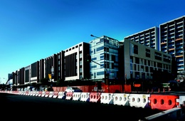 Britomart's brand new car park