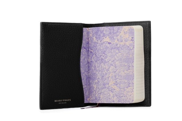 "Keep track of all your important client meetings with the stylish <a href=""https://deadlyponies.com/shop/2017-journal-with-cover/black/"" target=""_blank""><u>Deadly Ponies 2017 journal</u></a>."