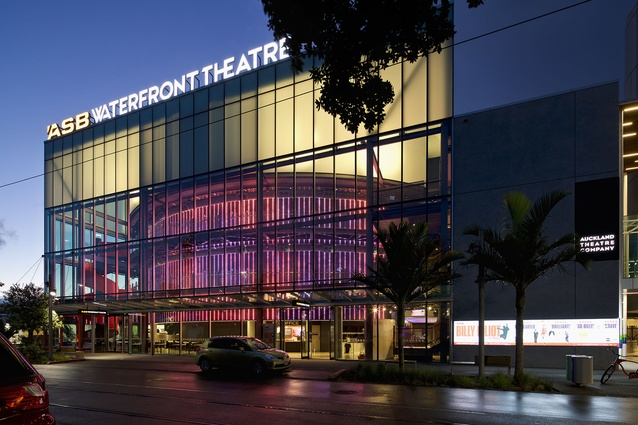 Public Architecture category finalist: ASB Waterfront Theatre, Auckland by Moller Architects and BVN in association.