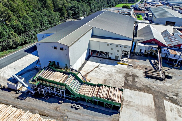 Industrial Project Award: Red Stag Sawmill, Rotorua.