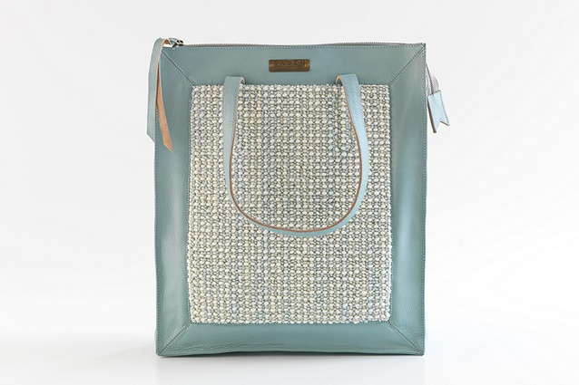 Cavalier Bremworth has collaborated with Saben to create an exclusive, blue leather tote, valued at $450.