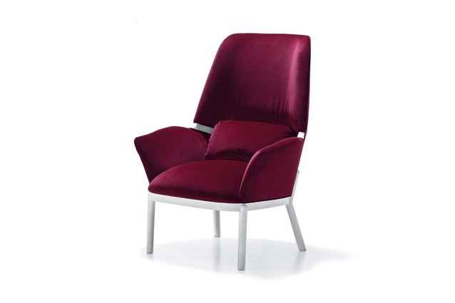 "Serena chair by Luca Nichetto 2014 for Arflex | <a href=""http://www.studioitalia.co.nz/furniture/milano-2014/serena-and-doge-1/"" target=""_blank""><u> $7780 from Studio Italia.</u></a>"