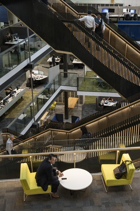 Winner: Workplace (over 1,000m<sup>2</sup>) Award – The Future of Work - Fonterra Centre by Jasmax.
