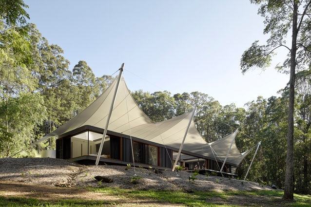 Tent House by Sparks Architects.