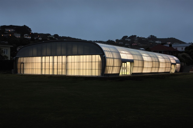 The Hodge Sports Centre, Wellington.