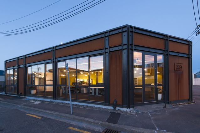 Small Project Architecture Award: 229 Lichfield Office by Young Architects.