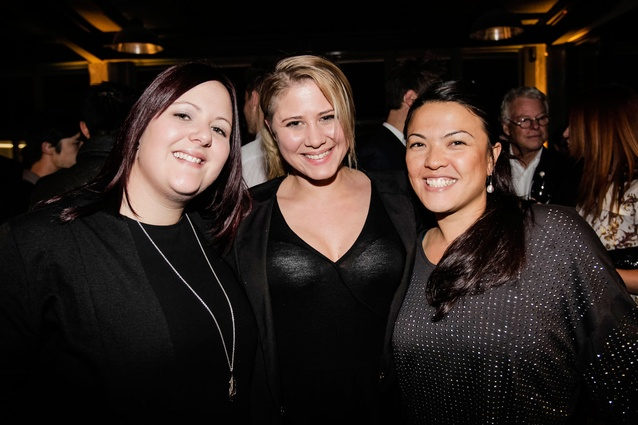 From left: Rebecca Field, Isabelle Vincent and Merisha Ansell of Mico Design.