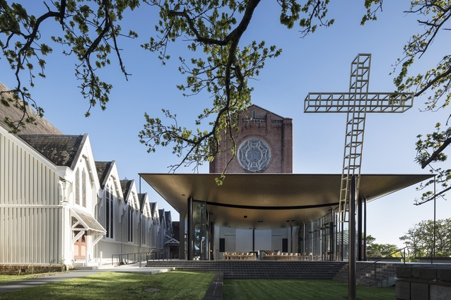 Public Architecture winner: Bishop Selwyn Chapel, Holy Trinity Cathedral, Parnell by Fearon Hay Architects.