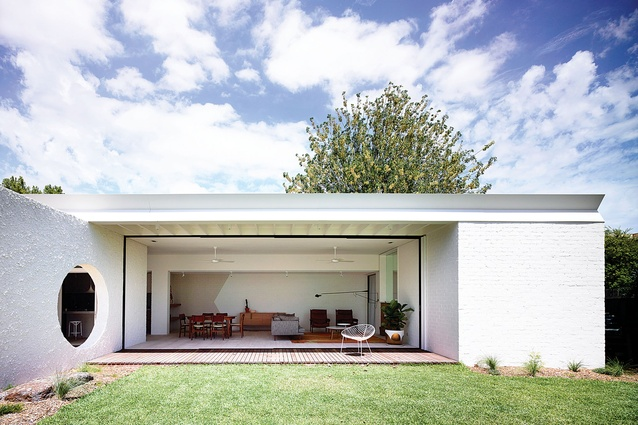 Joint winner of House in a Heritage Context: Westgarth House by Kennedy Nolan Architects.