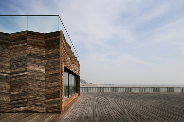 Hastings Pier by dRMM Architects.