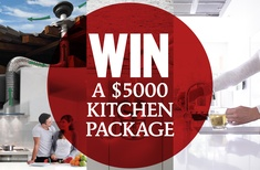 Win a kitchen prize package valued at over $5,000