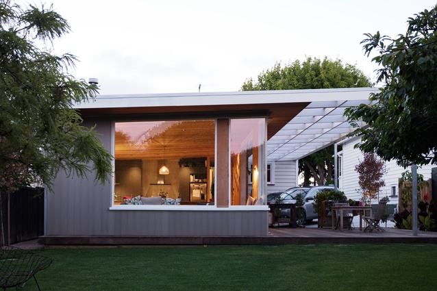 Housing: Alterations & Additions winner: Johnstone Family Home Additions, Mangere by Bull O'Sullivan Architects.