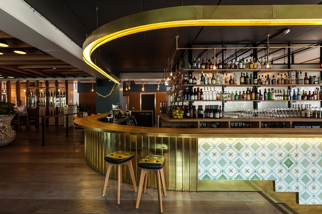 Finalist: Hospitality – The Glass Goose (Auckland) by Ctrl Space.