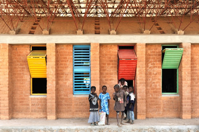 Gando Primary School by Kéré Architecture.