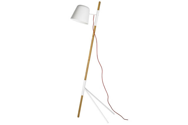 The Outrigger floor lamp. RRP $795; boconcept.co.nz