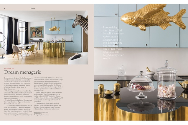 A preview from the 24-page kitchen and bathroom insert in the latest issue of <em>Urbis</em>.