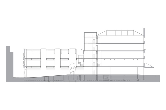 Building section.