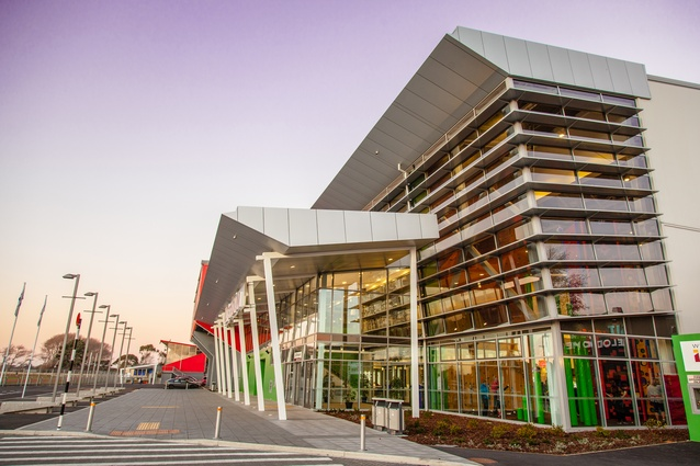 Commercial Architecture Award: Stadium Southland re-instatement by McCulloch Architects.