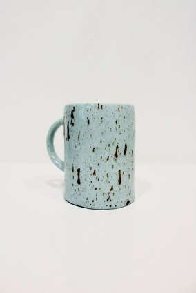 Tall teal mug | $35 from <a 