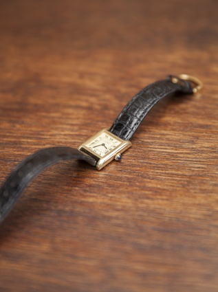 """Cartier watch: """"My mother was an air hostess for Air NZ in the '70s. She bought this watch for herself and wore it for 20 years until she gifted it to me as a graduation present."""""""