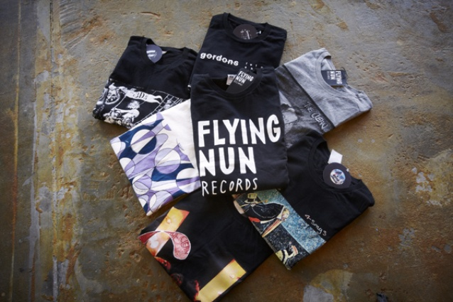 Flying Nun adds a range of t-shirts to the collaborative space.