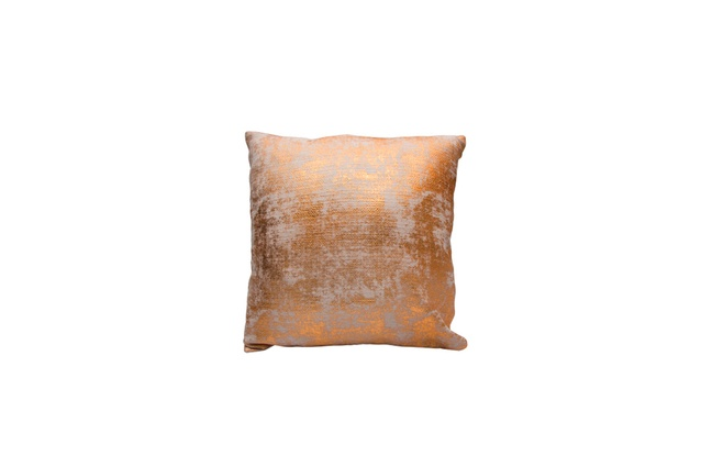 Gold Square Cushion from The Linen Store I