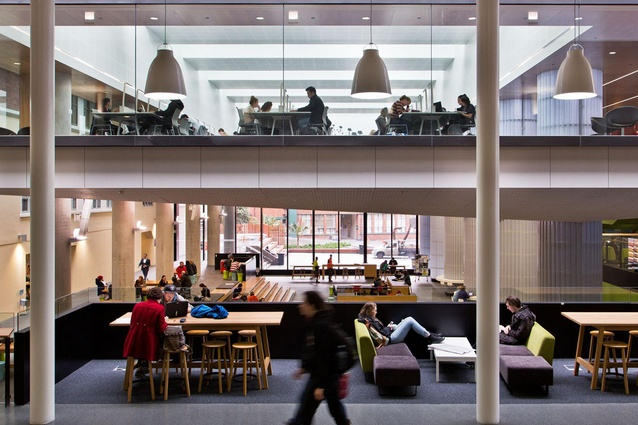 Finalist: Civic – Victoria University of Wellington Campus Hub and Library Upgrade by Athfield/Architectus.
