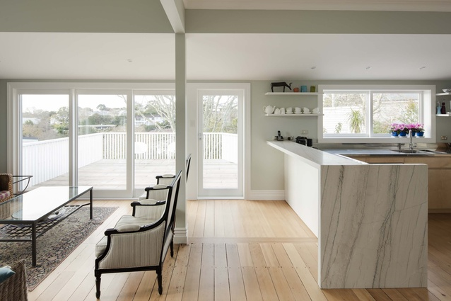 Resene Total Colour Neutrals Award: Bassett Road Renovation by Emma Morris & Lucy McGillivray.