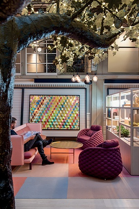 The Ovolo Hotel in Woolloomooloo, Sydney, by Hassell.