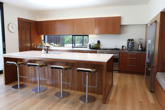 This kitchen by Stewart Hanna Limited won the Heart of the Home Kitchen Award category.