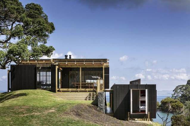 Housing category finalist: Castle Rock House, Northland by Herbst Architects.