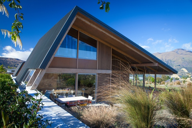 Housing Award: Wanaka House by Lovell and O'Connell Architects.