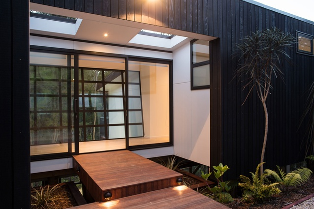 This home by J Lewis Building Ltd won the PlaceMakers New Homes $250,000 - $350,000 category.