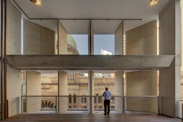 AHL Headquarters – 478 George Street (NSW) by Candalepas Associates.