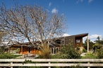 Under the walnut tree: Wairarapa Haybarn