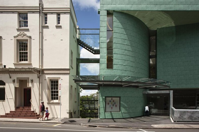 Public Architecture category finalist: Te Uru Waitakere Contemporary Gallery, Titirangi, Auckland by Mitchell and Stout Architects.