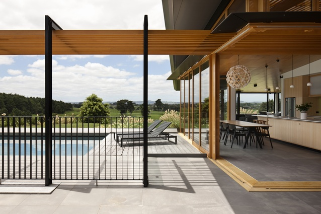 Housing Award: Te Hihi, Karaka by SGA – Strachan Group Architects.