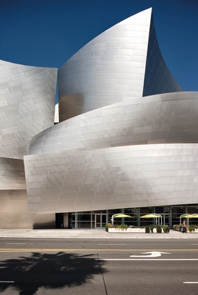 The Walt Disney Concert Hall.