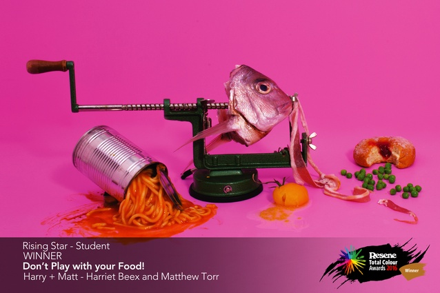 Rising Star – Student Award winner: Don't Play with your Food! by Harriet Beex and Matthew Torr of Harry + Matt.