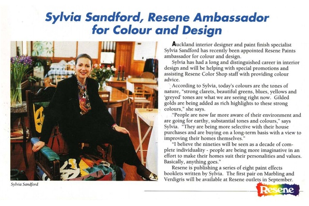 """Sylvie Sandford in 1993: """" I believe the nineties will be seen as a decade of complete individuality"""". A fair call indeed."""