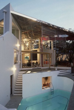 Enduring Architecture category finalist: Gibbs House (1985), Auckland by Mitchell & Stout Architects.