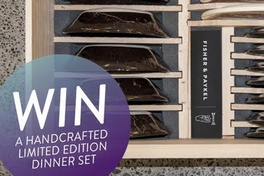 Win a handcrafted Wundaire dinner set