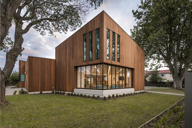 Commercial Architecture Award: Christchurch Eye Surgery Clinic by Wilson & Hill Architects.
